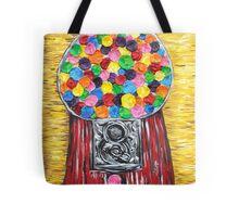 """""""Bubblegum Machine"""" Tote Bag"""