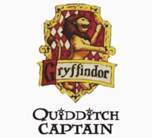 Gryffindor Quidditch Captain Kids Clothes