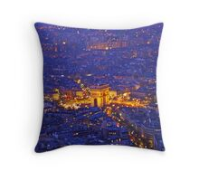The Arc From The Eiffel Throw Pillow