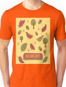Autumn Days Unisex T-Shirt