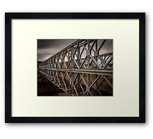 Traditional Iron Bridge Framed Print