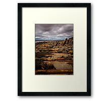 Joggins Fossil Cliffs Framed Print