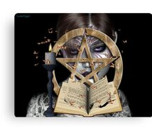 spellbound .. a witch`s tale Canvas Print