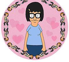 Tina Hearts Jimmy Jr by restlessbear
