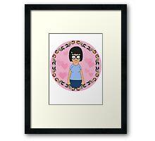Tina Hearts Jimmy Jr Framed Print