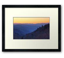 Smoky Mountains Dawn Framed Print