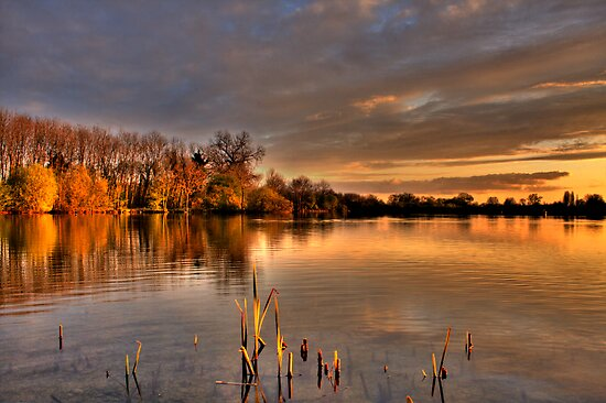 Sunscaped Cotswolds by GlennB