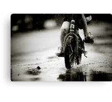 Wet Weather Madness... Canvas Print