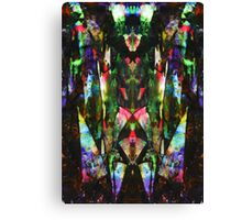 Abstract Mindmirror Acrylic Painting Canvas Print