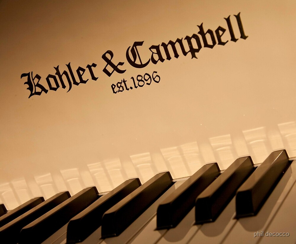 Kohler & Campbell by phil decocco