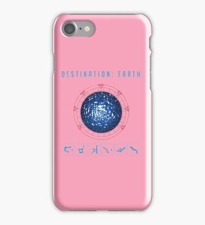 Destination Earth chevron symbols iPhone Case/Skin