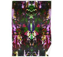 Abstract Mindmirror Acrylic Painting Poster
