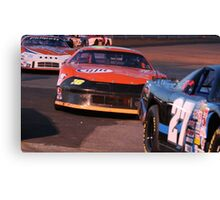 A Day To Race Canvas Print