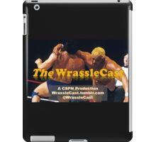 The WrassleCast logo iPad Case/Skin