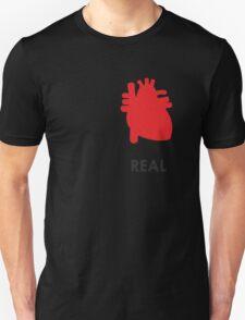 Reality - White Unisex T-Shirt