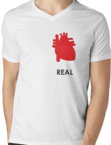 Reality - White Mens V-Neck T-Shirt