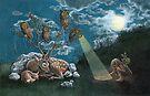 Even the Crickets Grew Silent (Print) by Tara Krebs