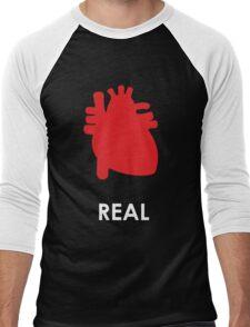 Reality - Black Men's Baseball ¾ T-Shirt
