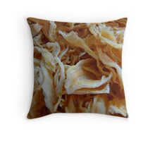 Dried Onions Throw Pillow