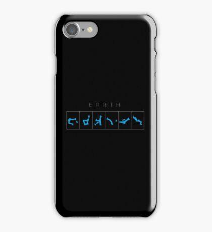Earth chevron destination symbols iPhone Case/Skin