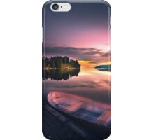 The old man and the boat iPhone Case/Skin