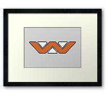 Weyland-Yutani Framed Print