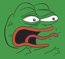 Angry Pepe the Frog - REEEEEEE by kebuenowilly