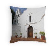 Mission Series San Diego 1 Throw Pillow