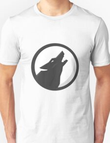 Full Moon Howling Wolf T-Shirt