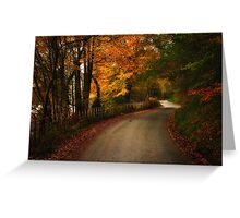 Automn in Snowdonia Greeting Card