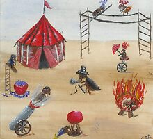 Flea Circus by Carol Megivern
