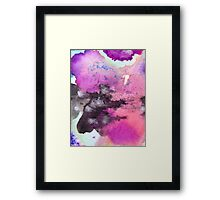 Heavens are opening Framed Print