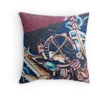 SYDNEY GRAFFITI 20 Throw Pillow