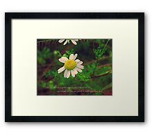 Then on the shore of the wide world I stand alone, and think, till love and fame to nothingness do sink Framed Print