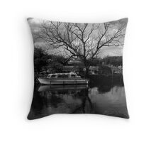 Reflections of Kinewell.  Throw Pillow