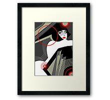 Shaped 16. Framed Print