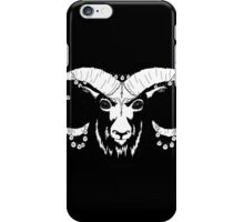 Aries (Black) iPhone Case/Skin