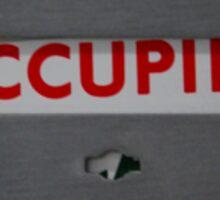 Occupied Sticker