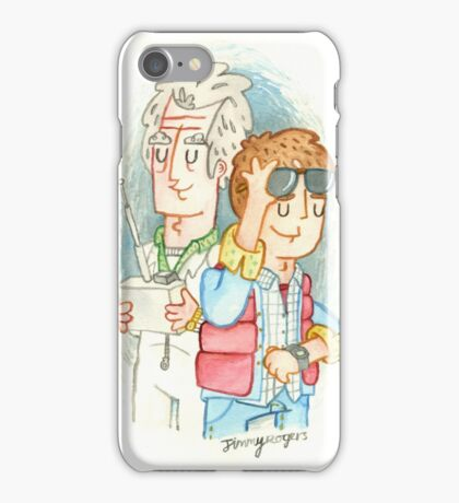 Doc & Marty iPhone Case/Skin