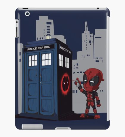 Defacing the Phonebox iPad Case/Skin