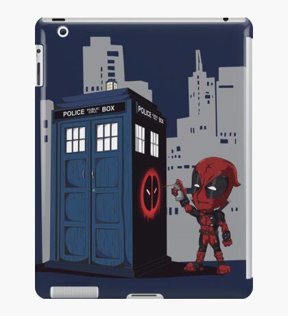 Defacing the Phonebox iPad Case/Skin