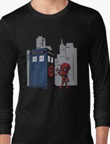 Defacing the Phonebox Long Sleeve T-Shirt