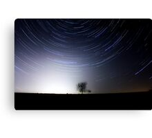 Tree and stars Canvas Print