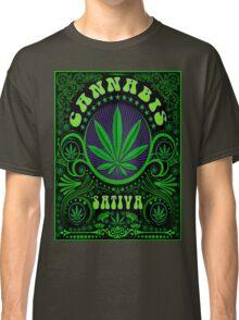 CANNABIS SATIVA.3 Classic T-Shirt