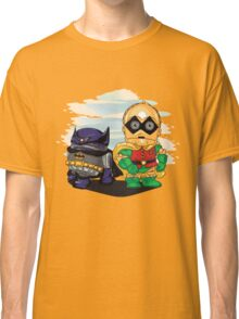 Bat-D2 and Rob-3PO Classic T-Shirt