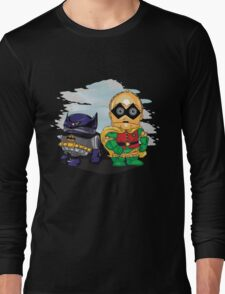 Bat-D2 and Rob-3PO Long Sleeve T-Shirt