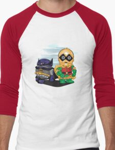 Bat-D2 and Rob-3PO Men's Baseball ¾ T-Shirt