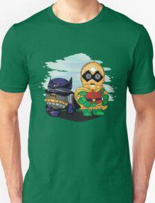 Bat-D2 and Rob-3PO Unisex T-Shirt