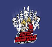 Super Saiyans vs. the universe Unisex T-Shirt