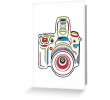 Rainbow Camera Fun Greeting Card
